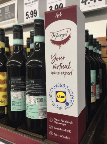 branding and simplicity in language - wine bottle