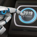 robot, bot, chatbot, hand, 2019