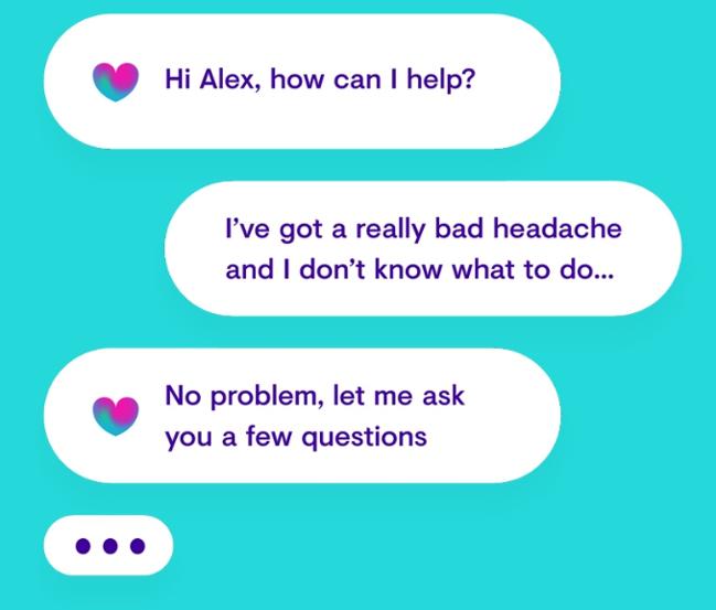 ot, heathcare chatbot, health chatbot, headache